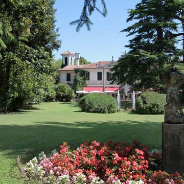 Tuin Hotel Villa Luppis