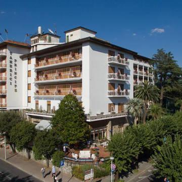 Aanzicht hotel Grand Hotel Tamerici & Principe
