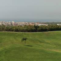 Golfbaan en uitzicht