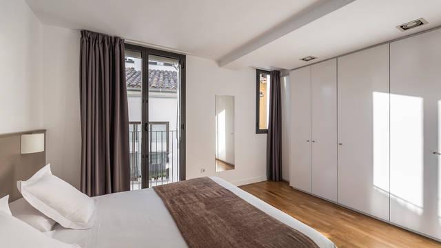 Slaapkamer Appartementen Mon Suites Catedral