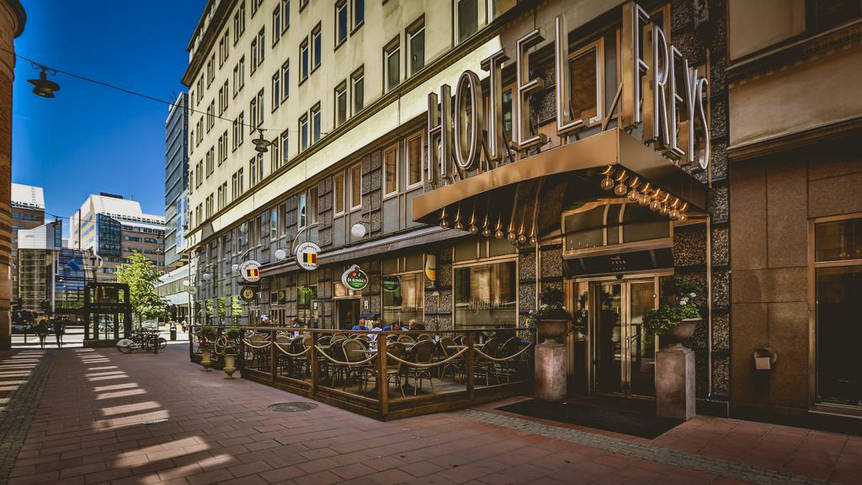 Entree Hotel Freys