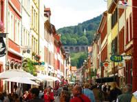 Straat in Heidelberg