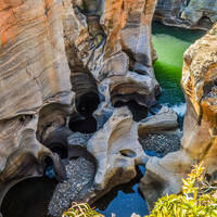 Panorama Route - Blyde River Canyon reservaat, Bourke's Luck Potholes