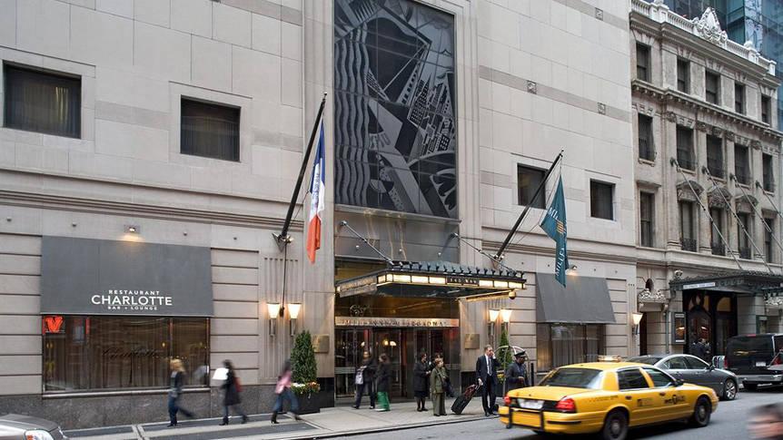 Aanzicht Hotel Millennium Times Square New York