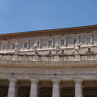 Het Vaticaan detail dak