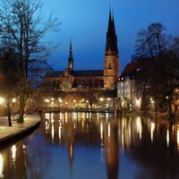 Uppsala - avondopname