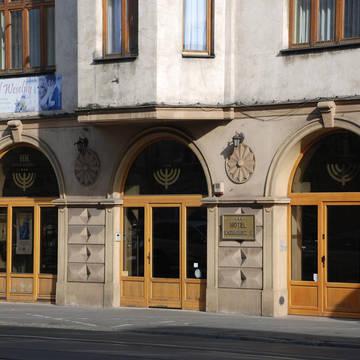 Voorzijde Hotel Kazimierz II