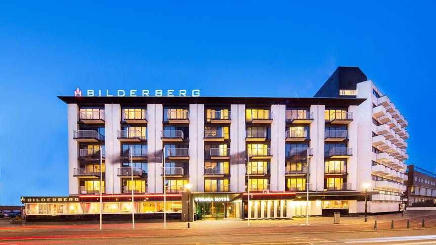 Buitenaanzicht Bilderberg Europa Hotel Scheveningen