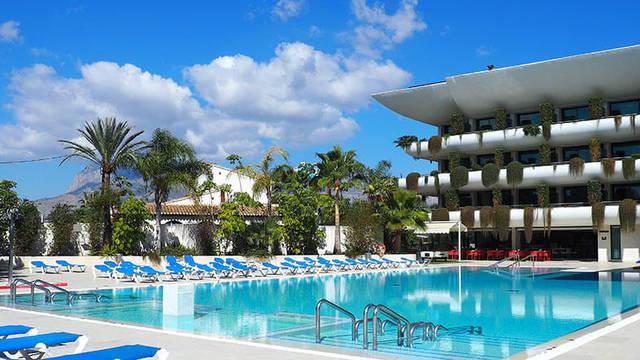 Zwembad Hotel Deloix Aqua Center