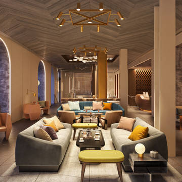 Lounge Hotel The James New York-NoMad (voorheen The Carlton)