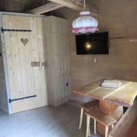 Voorbeeld kamer boomhut