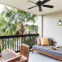 Voorbeeld Deluxe Kamer - balkon