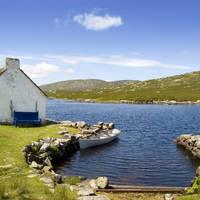Cottage en boot bij Connemara
