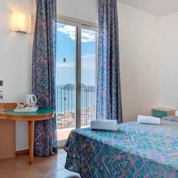 Voorbeeldkamer Panorama Hotel Antares