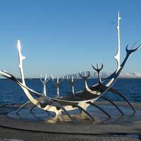 Reykjavik Monument Sun Vogager
