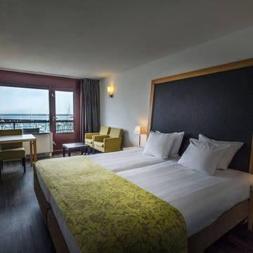 Kamervoorbeeld 3-daags arrangement 'Uitwaaien aan de kust' - Apollo Hotel IJmuiden Seaport Beach