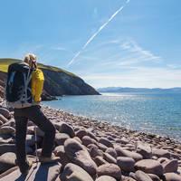 Wandelaar in Ierland