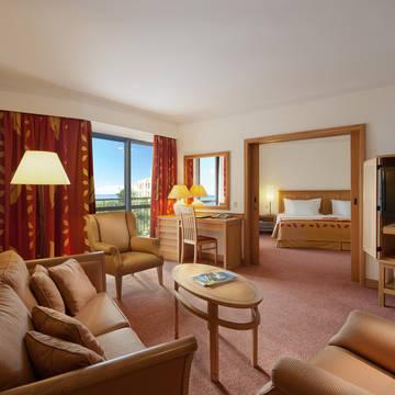 Voorbeeldkamer Junior Suite Hotel Porto Mare