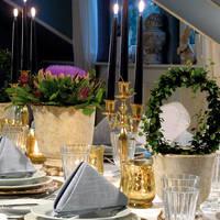 Tiffany Gold Dekoratie