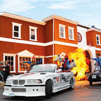 Movie Park stunt show