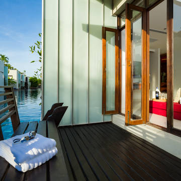 Let's Sea Hua Hin al Fresco Resort - Voorbeeld Terras Pool Acces Jacuzzi Suite Lets Sea Hua Hin Al Fresco Resort