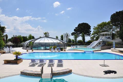 Vakantiedeal camping Bretagne 🏕️Camping Le Raguenes Plage