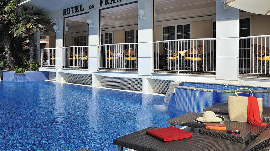 Zwembad Hotel De France