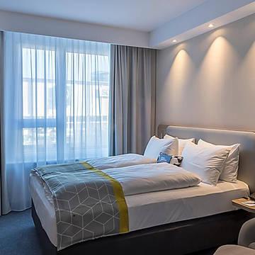 Voorbeeld 2-persoonskamer Holiday Inn Express Luzern - Kriens