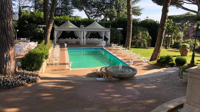 Zwembad Park Hotel Villaferrata