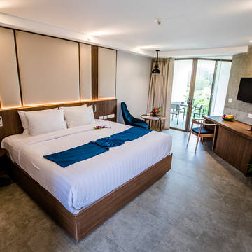 Dewa Phuket - Voorbeeld Deluxe Kamer Dewa Phuket (Beach Resort, Villas & Suites)
