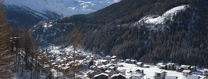 Wintersport Saas Grund