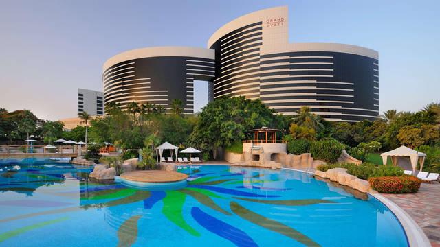 Zwembad Hotel Grand Hyatt Dubai