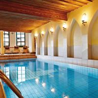 Zwembad in Hotel Unterbrunn