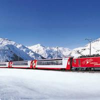 8 daagse bus en treinrondreis Kerst met de Zwitserse treinen