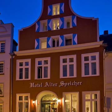Buitenaanzicht Hotel Alter Speicher