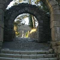 Stenen poort