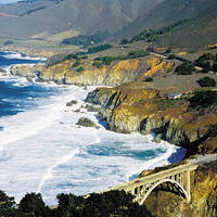 Californië Big Sur