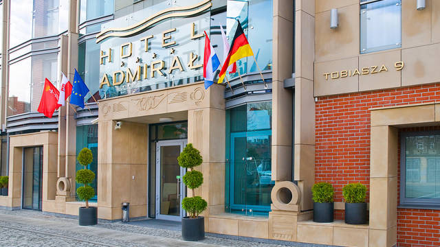 Entree Hotel Admiral
