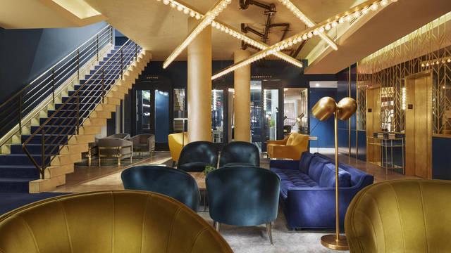 Lobby Hotel The Tillary