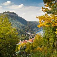 Uitzicht op Königstein