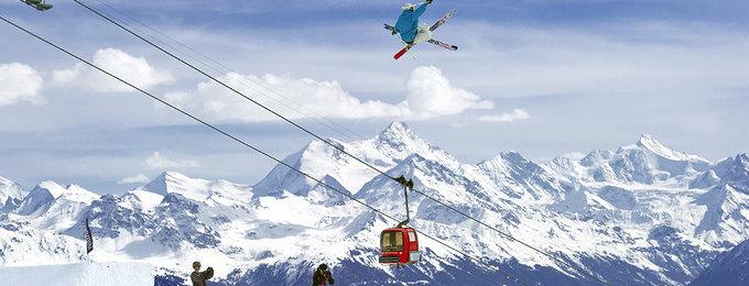 Wintersport Crans Montana