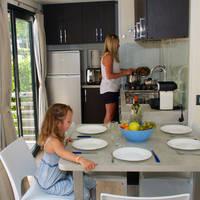 Woonkamer/keuken voorbeeld