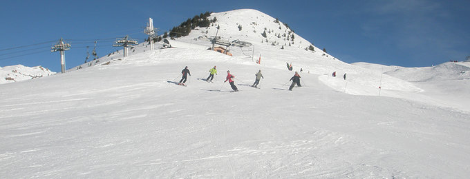 Wintersport Les Arcs