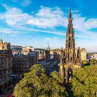 Edinburgh - The Walter Scott Monument