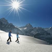 Snowshoeing Grindelwald
