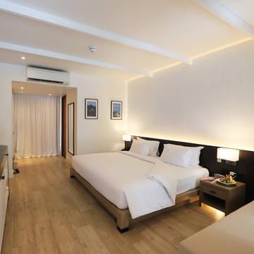 Voorbeeld Deluxe kamer Celes Beachfront Resort Koh Samui