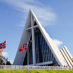 Tromsø - ijskathedraal