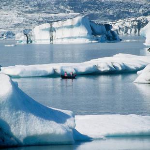 Jökulsarlon gletsjermeer - Foto: Iceland Travel