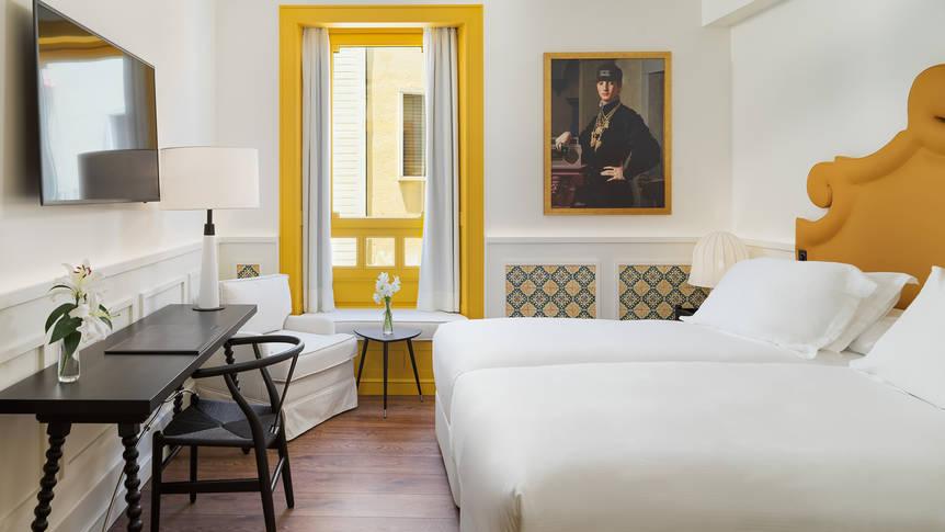 Tweepersoonskamer- Sevilla Hotel H10 Casa de la Plata