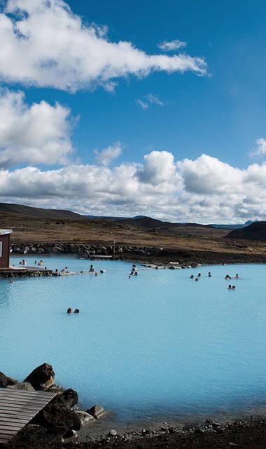 10-daagse fly-drive Avontuurlijk IJsland in vakantiewoningen